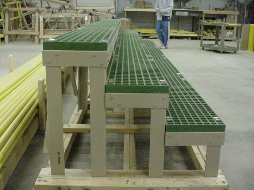 Fiberglass Grating Battery Rack