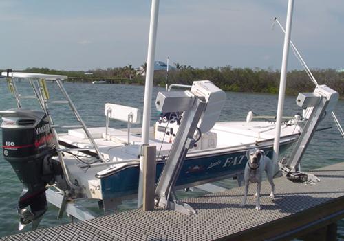FRP Grating Dock