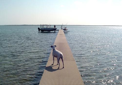 Fiberglass Grating Dock